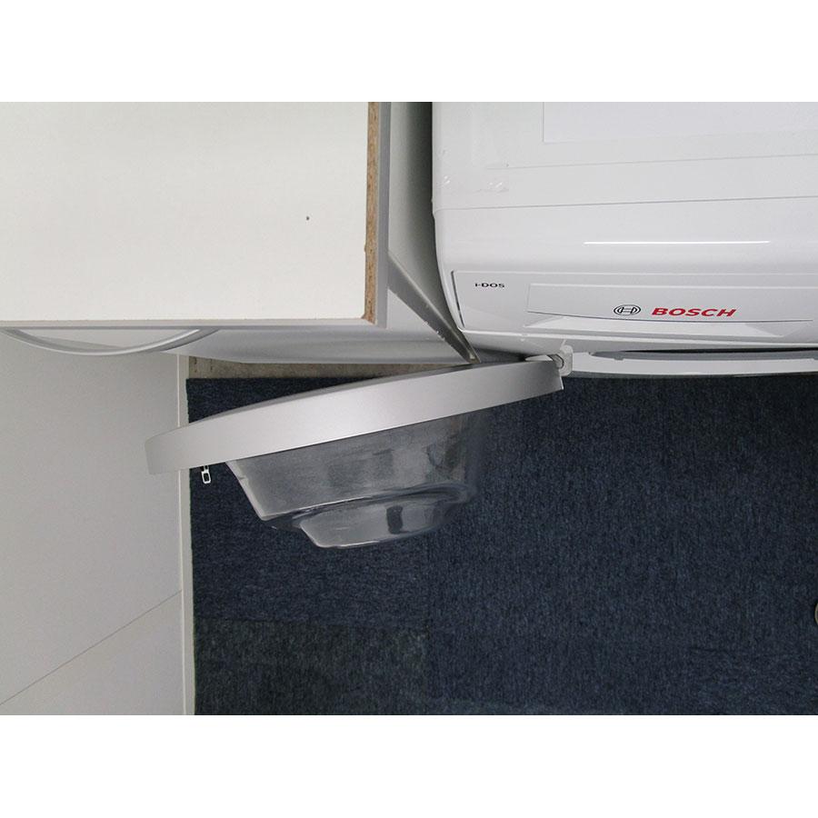 Bosch WAT28618FF i-Dos - Angle d'ouverture de la porte