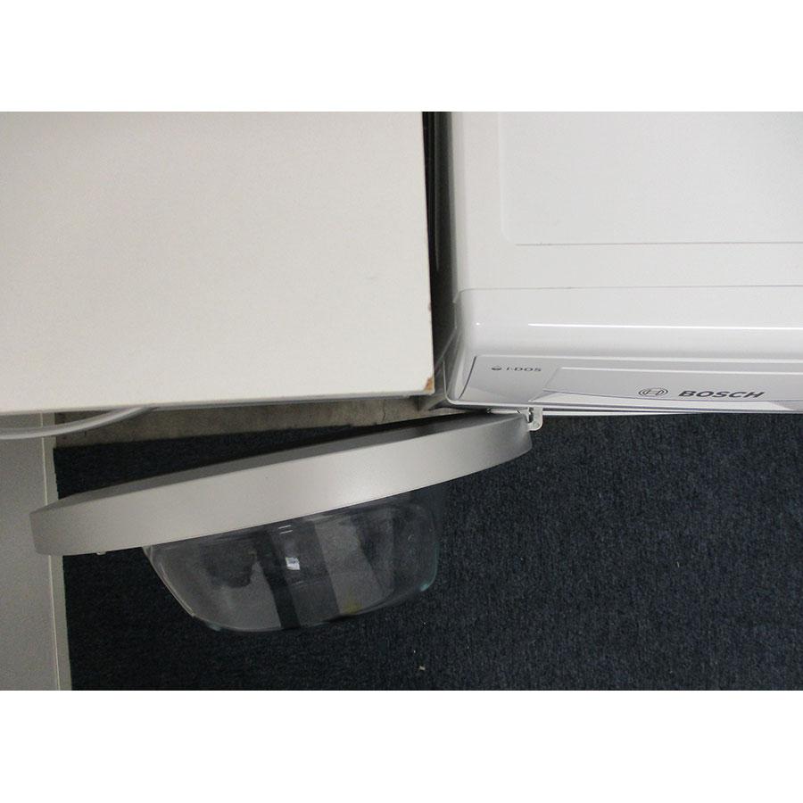 Bosch WAU28S09FF I-Dos - Angle d'ouverture de la porte