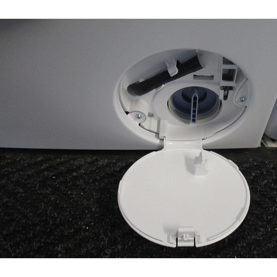 Bosch WAWH2660FF Home Connect Série 8(*34*) - Bouchon du filtre de vidange