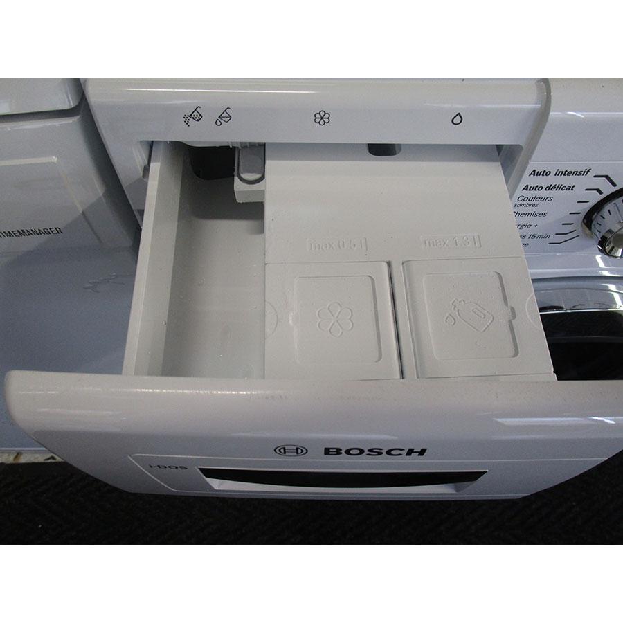 Bosch WAWH2660FF Home Connect Série 8(*34*) - Compartiments à produits lessiviels