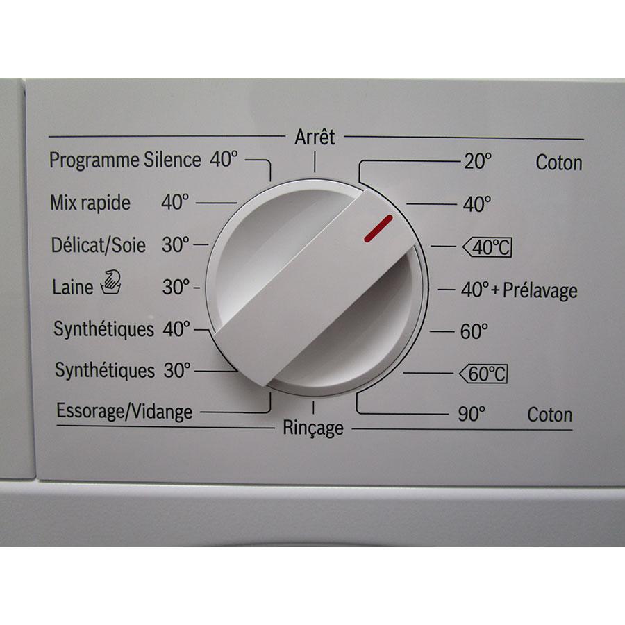 Bosch WIW28340FF - Sélecteur de programme et température