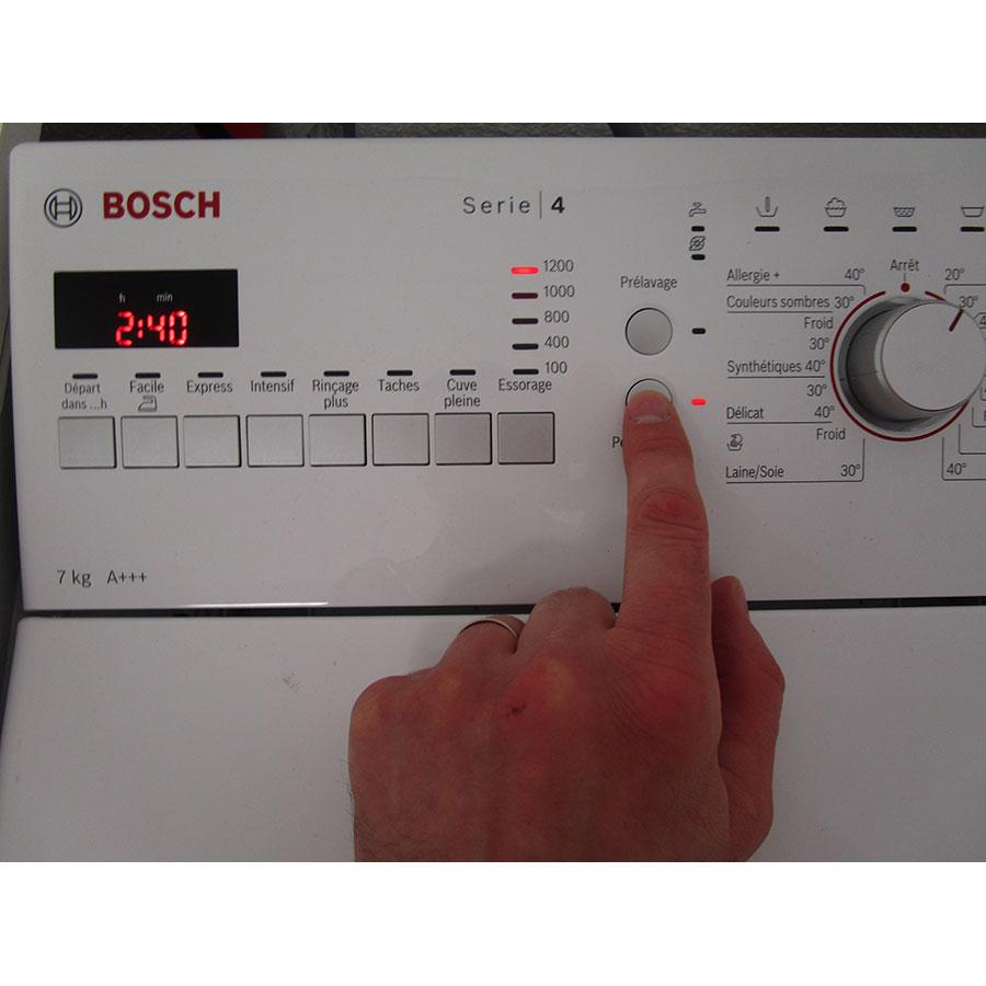 Bosch WOT24257FF - Touches d'option