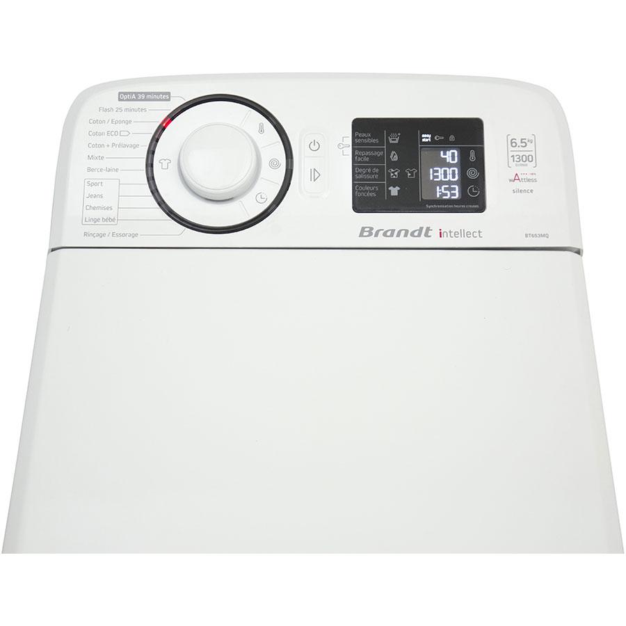 Test brandt bt653mq lave linge ufc que choisir for Lave linge que choisir