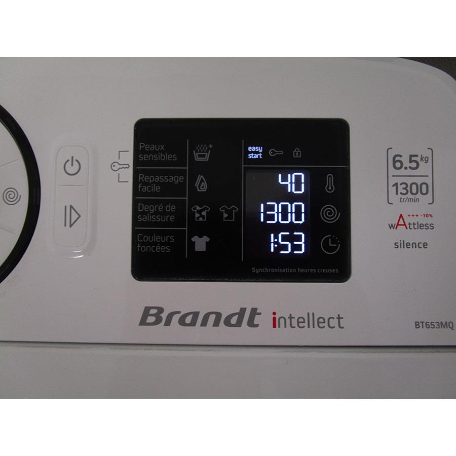 Brandt BT653MQ - Afficheur