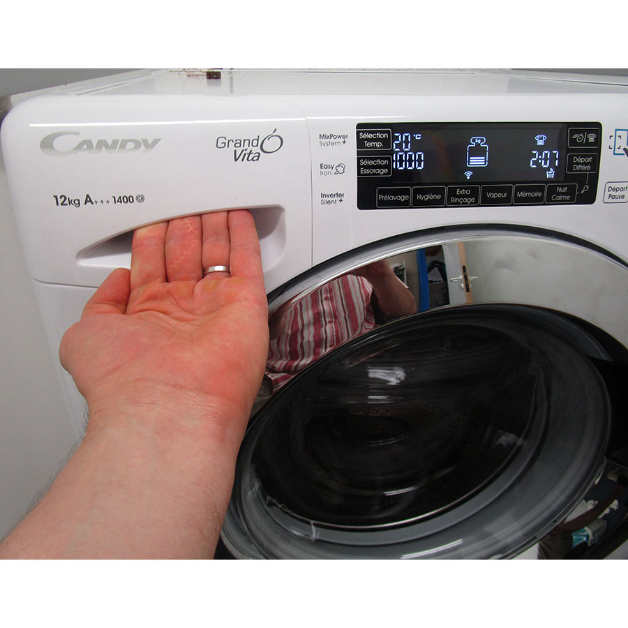 Test candy gvf1412lwhc3 47 lave linge ufc que choisir for Que choisir comme lave linge