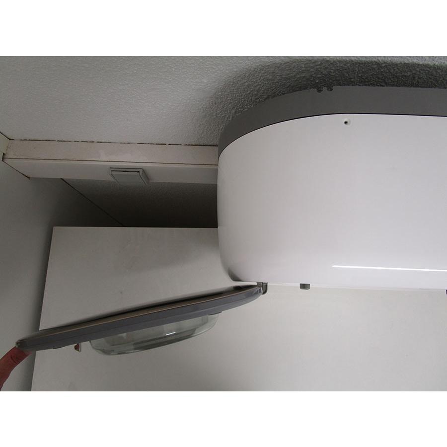 Daewoo DWD-CV801CG MINI 3 KG - Angle d'ouverture de la porte