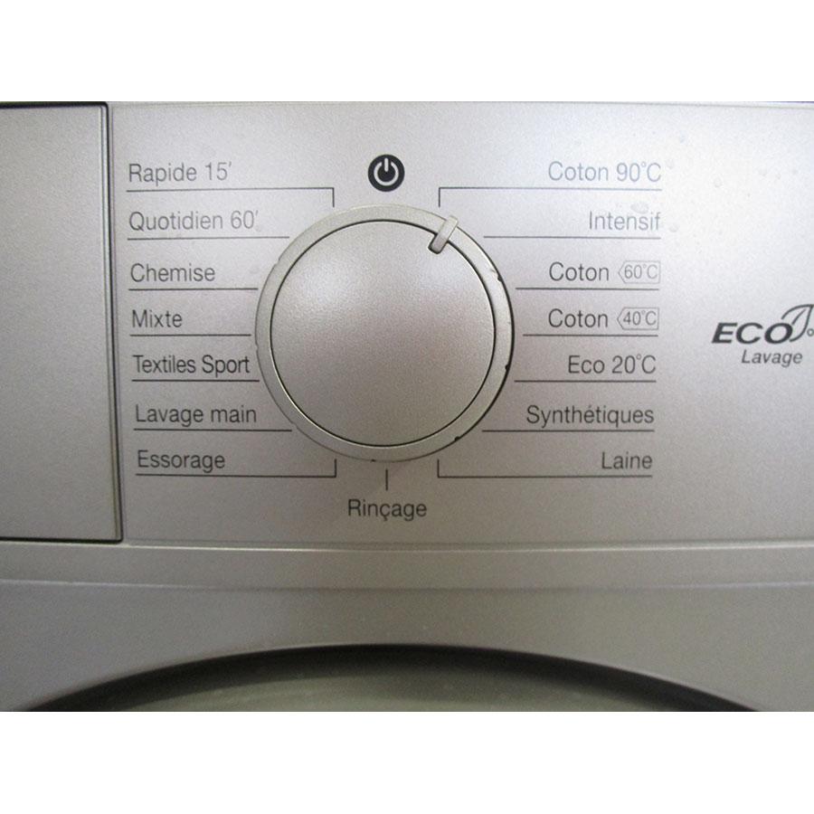 Daewoo DWD-FV2227 - Sélecteur de programme et température