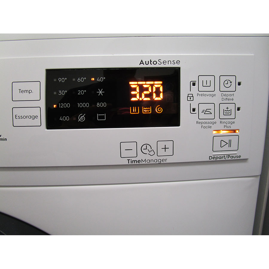 Electrolux EW2F1284GF - Afficheur