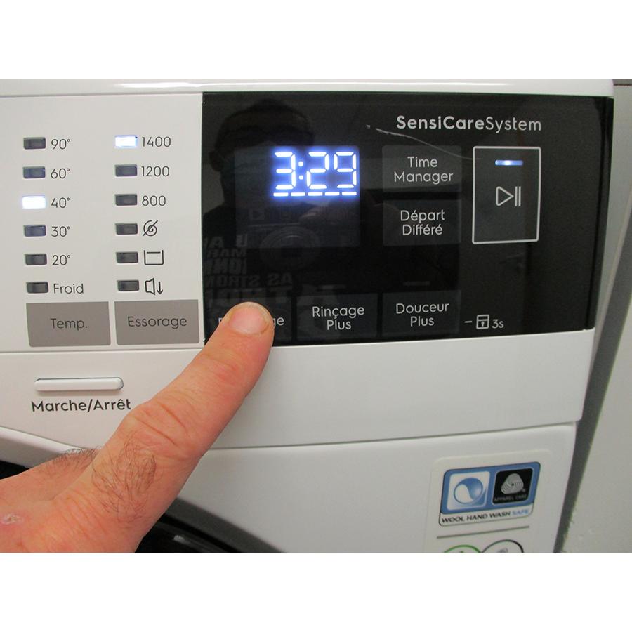 Electrolux EW6F1496AM - Afficheur et touches d'options