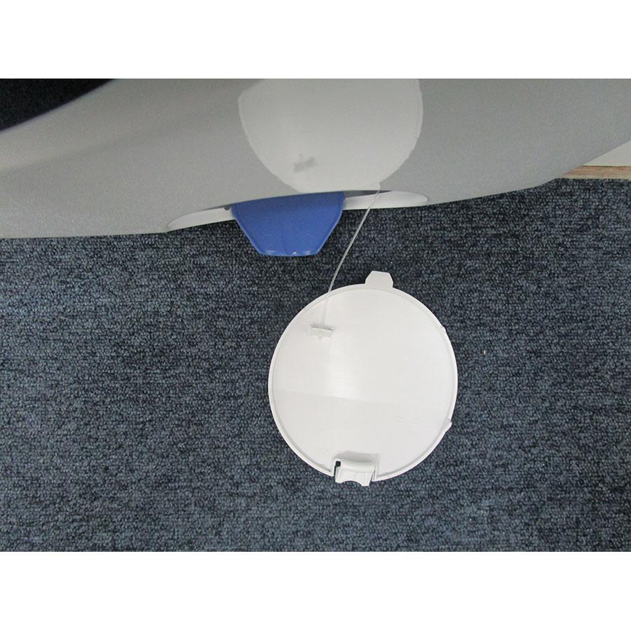 Electrolux EW6F4840SP(*10*) - Trappe du filtre de vidange ouverte