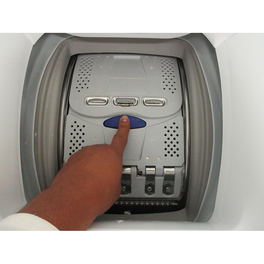 Electrolux EW6T3369ID - Bouton d'ouverture des portillons