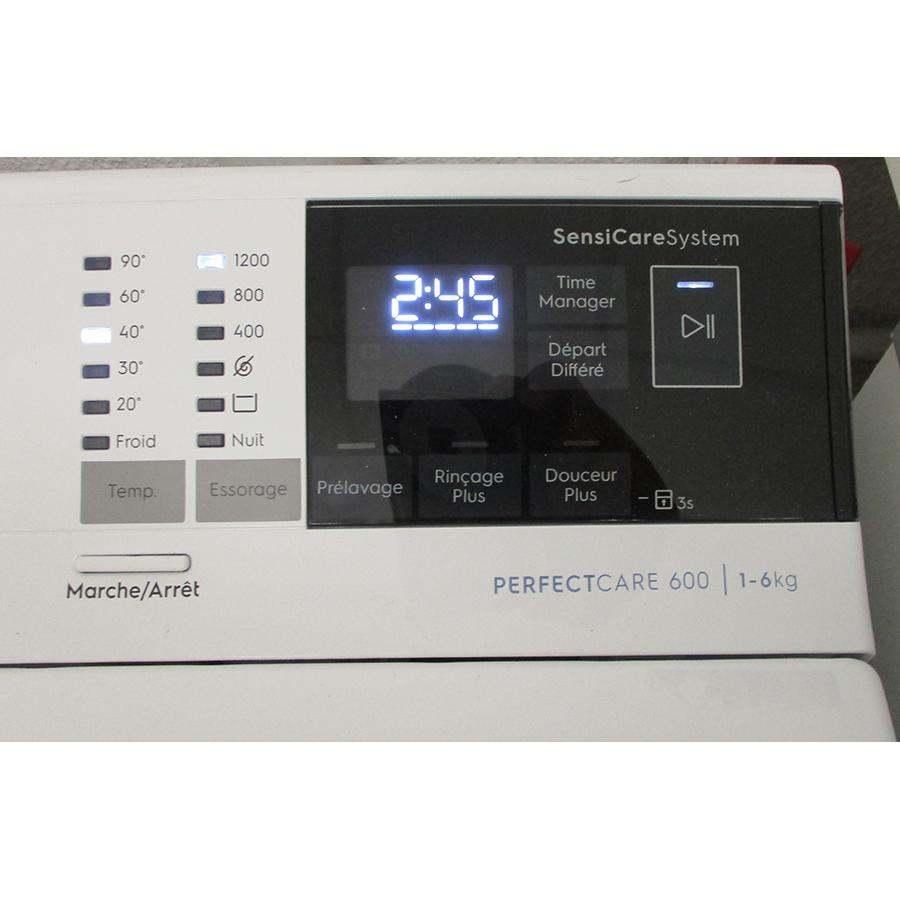 Electrolux EW6T3369ID - Afficheur
