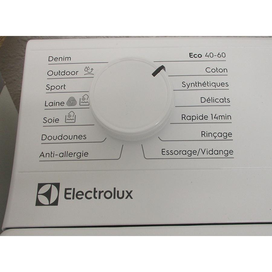 Electrolux EW6T3369ID - Sélecteur de programme