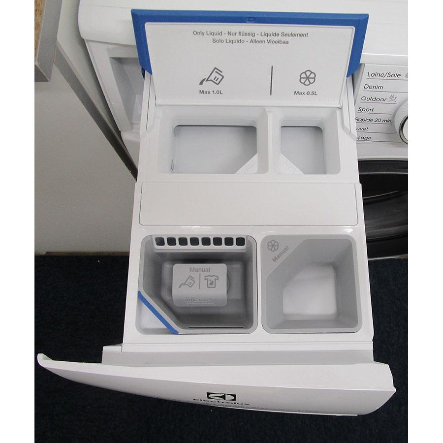 Electrolux EW7F3921RL - Compartiments à produits lessiviels