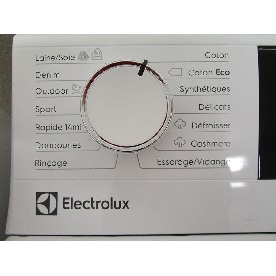 Electrolux EW7T3463IK - Sélecteur de programme