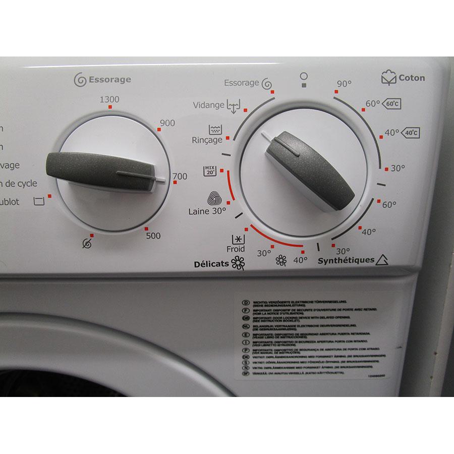 Electrolux EWC1350 - Sélecteur de programme et température
