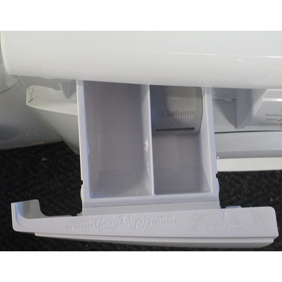 Electrolux EWF1284EOW(*10*) - Compartiments à produits lessiviels