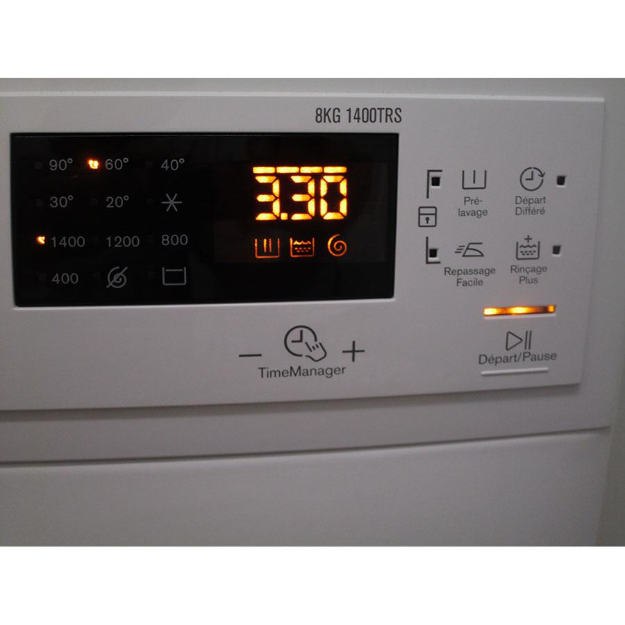 Electrolux EWF1484SSW - Afficheur