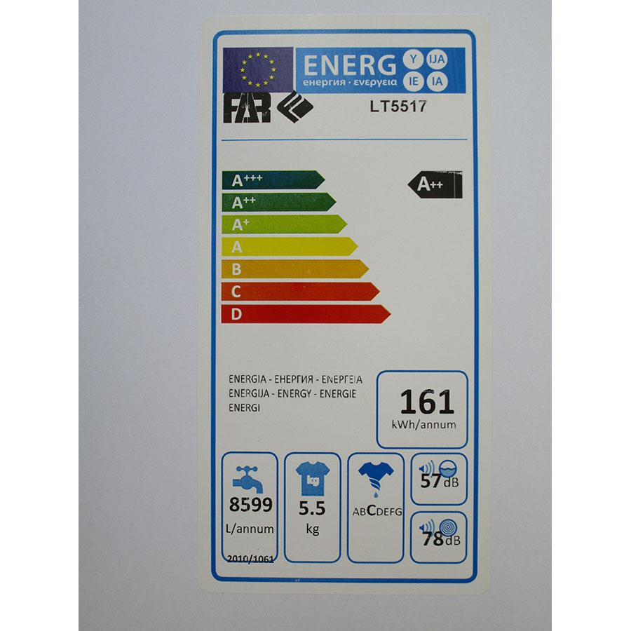 Far (Conforama) LT5517 - Étiquette énergie