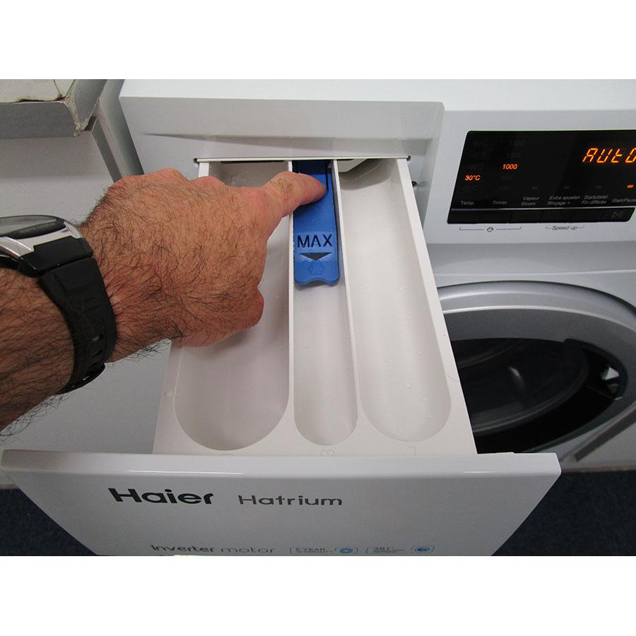 Haier HW90-BP14636 - Bouton de retrait du bac à produits