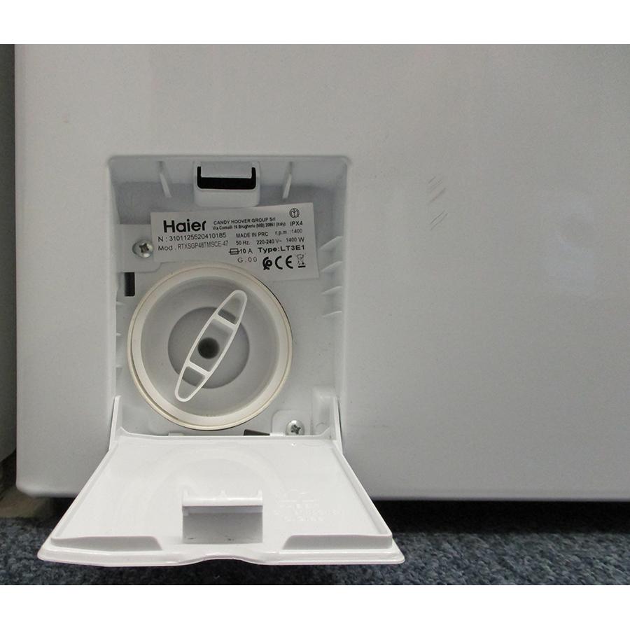 Haier RTXSGP48TMSCE - Bouchon du filtre de vidange
