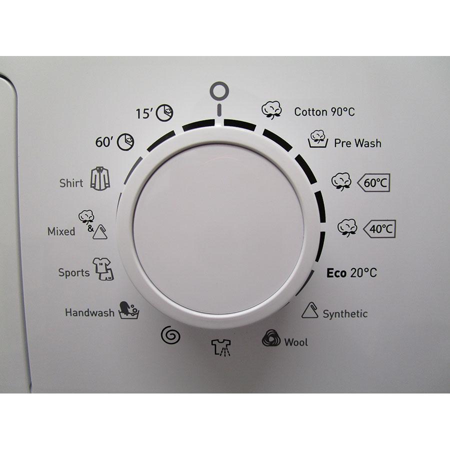 High One (Electro Dépôt) WM805A++WVET - Sélecteur de programme et température