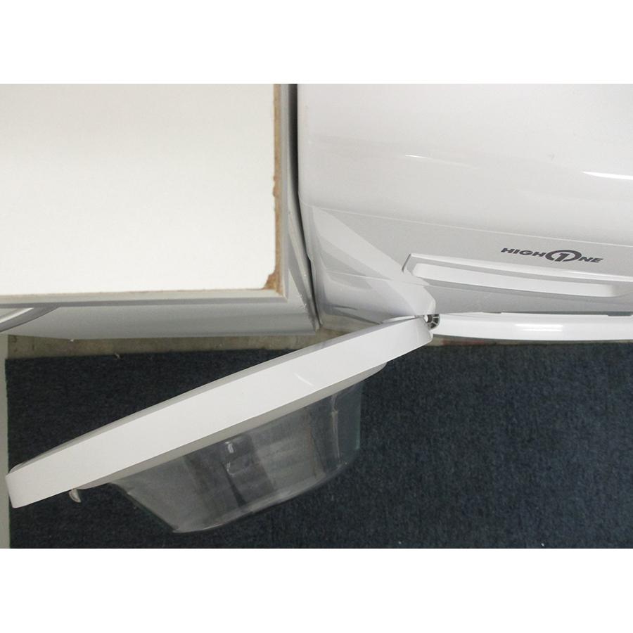 High One WF 580 D W701T - Angle d'ouverture de la porte
