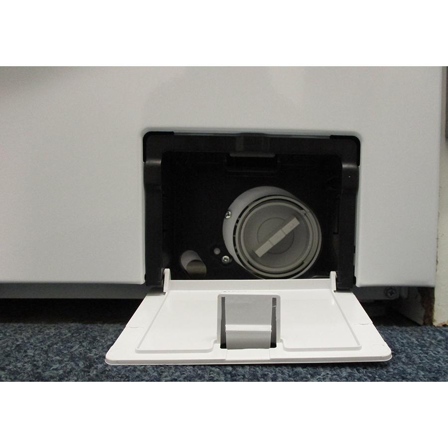 Hisense W712PVM - Bouchon du filtre de vidange