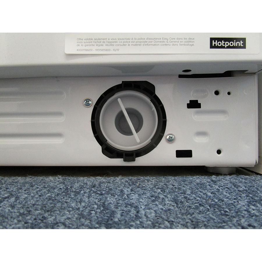 Hotpoint NM11946WSAFR - Bouchon du filtre de vidange