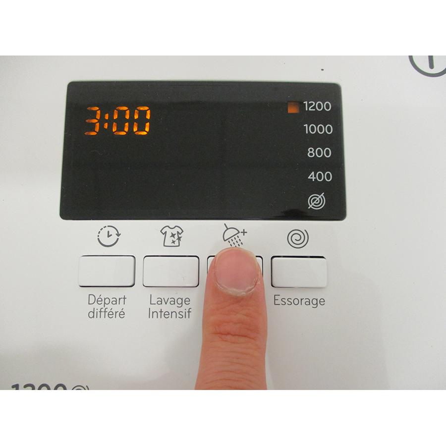 Indesit BTWS62300FRN - Touches d'option