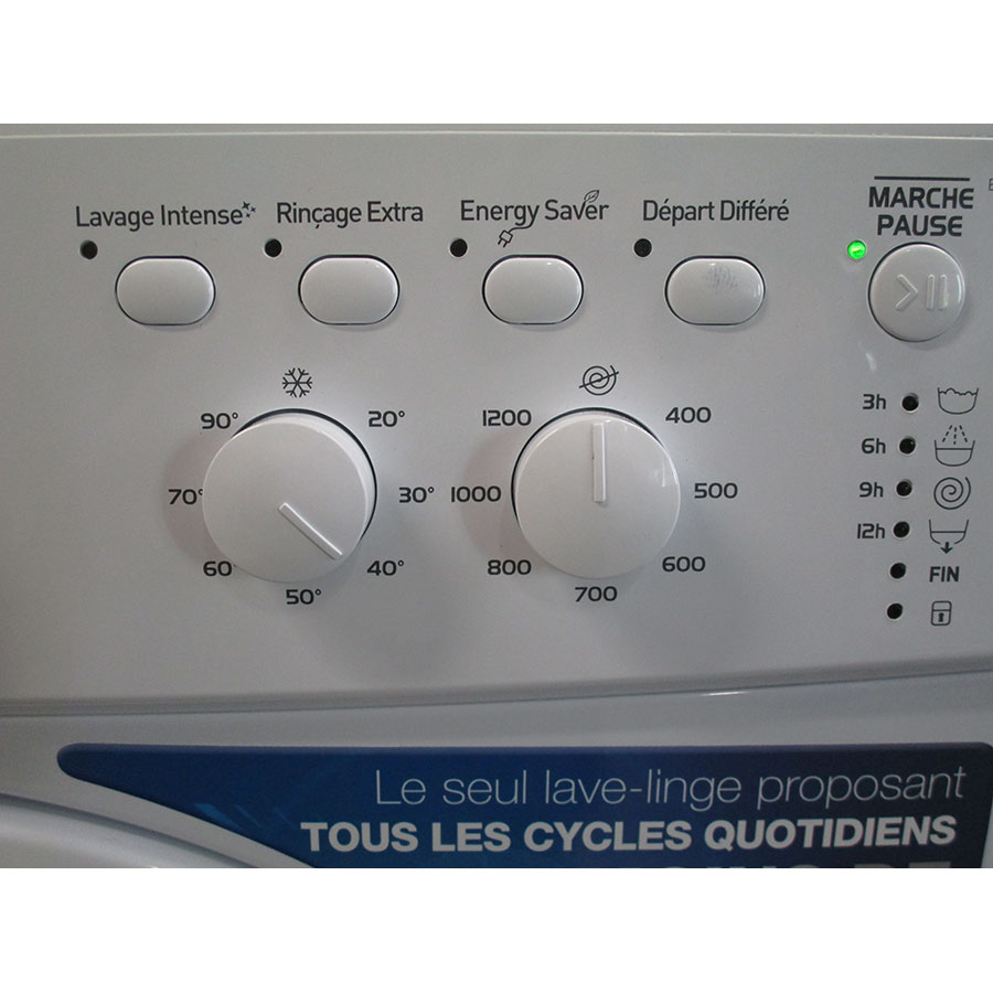 Indesit EWC61252W FR(*32*) - Touches d'option