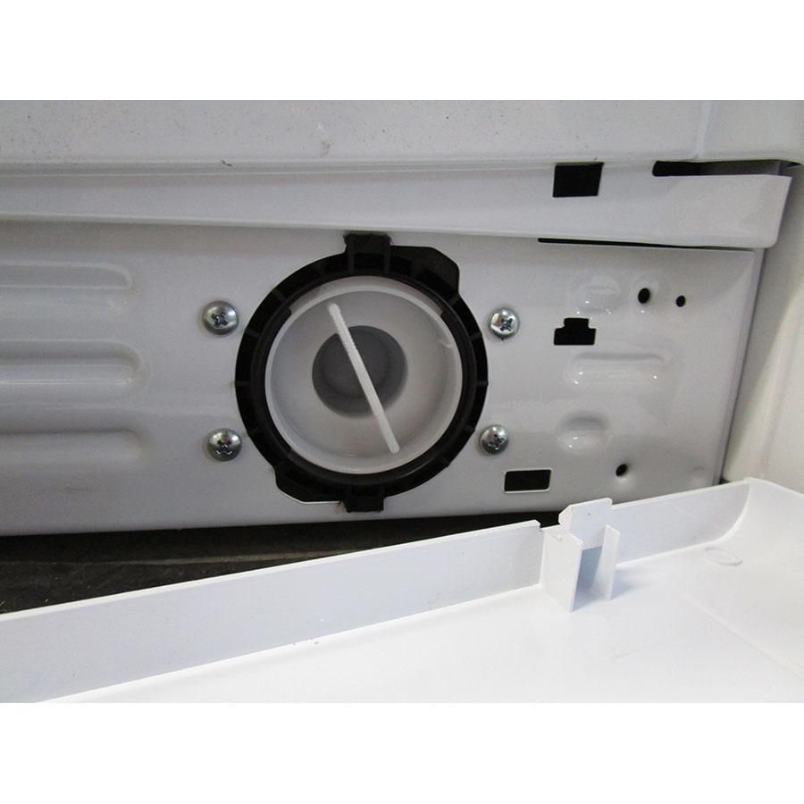 Indesit EWC61252W FR(*32*) - Bouchon du filtre de vidange