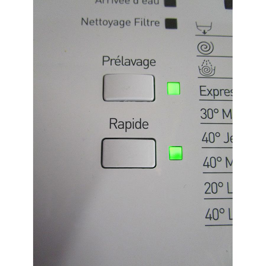 Indesit ITWD C 61252 W - Touche de pré-lavage