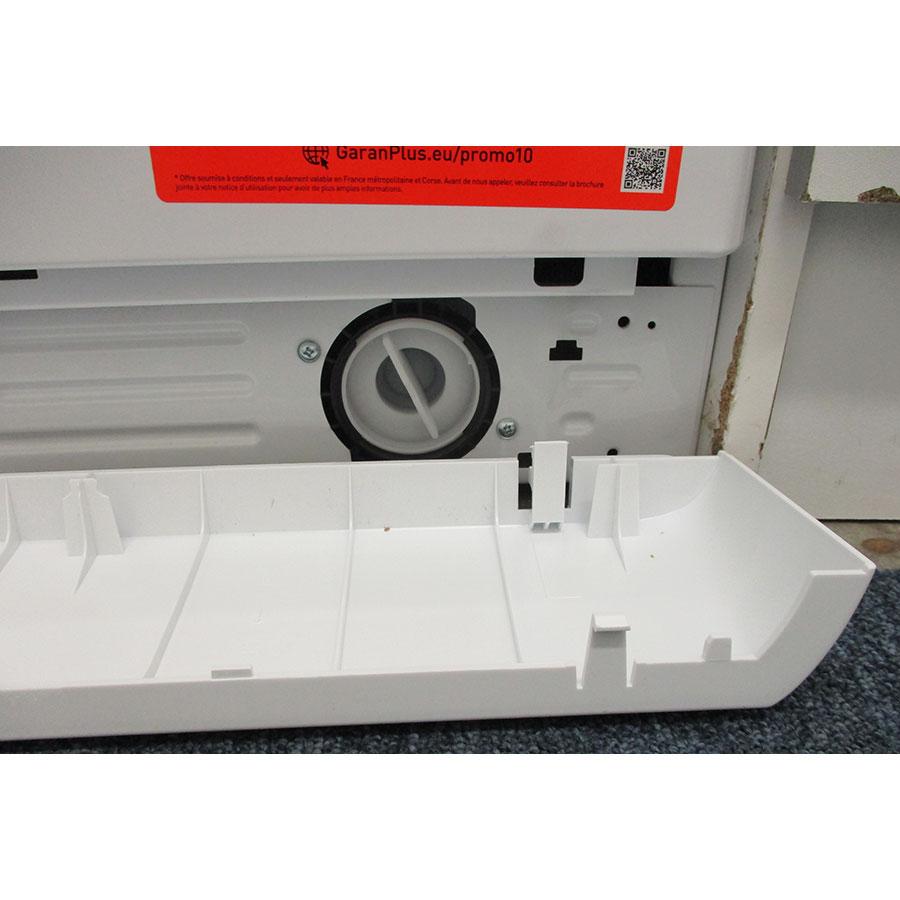 Indesit MTWE81683WKFR - Bouchon du filtre de vidange
