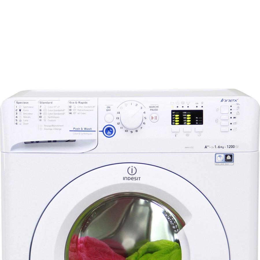 Indesit XWA61252W FR Innex Push & Wash (*23*) - Vue principale