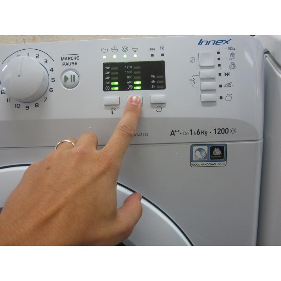 Indesit XWA61252W FR Innex Push & Wash (*23*) - Touches d'option