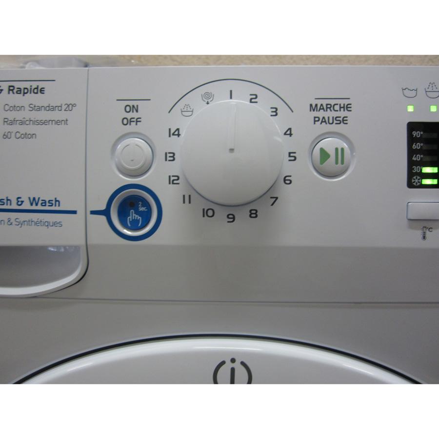 Indesit XWA61252W FR Innex Push & Wash (*23*) - Sélecteur de programme