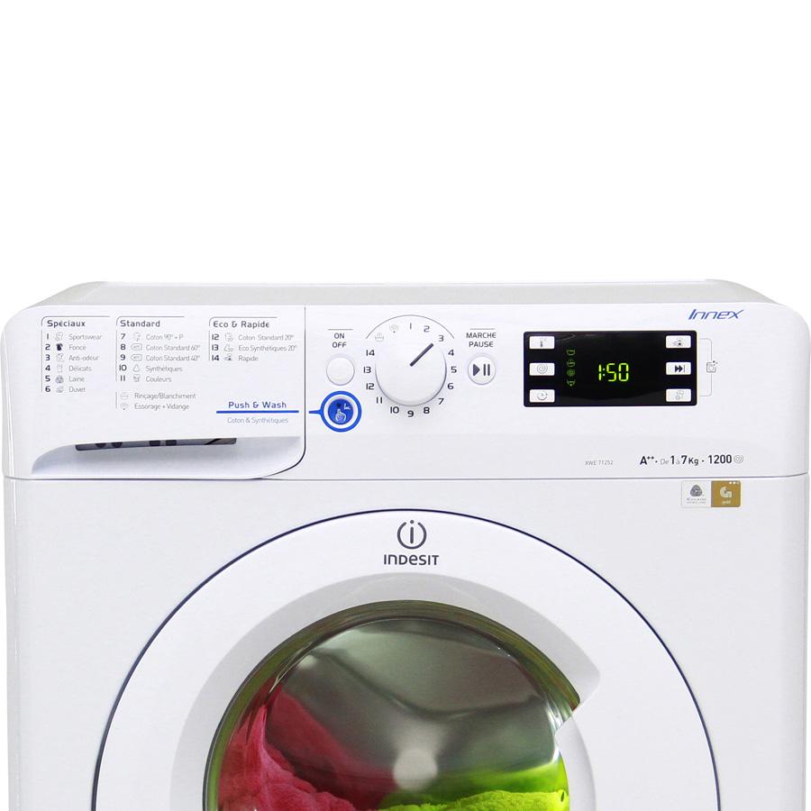 Indesit XWE71252W FR Innex Push&Wash (*20*) - Vue principale