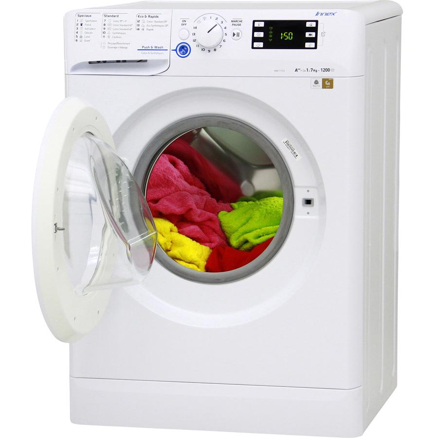 Indesit XWE71252W FR Innex Push&Wash (*20*) - Vue porte ouverte