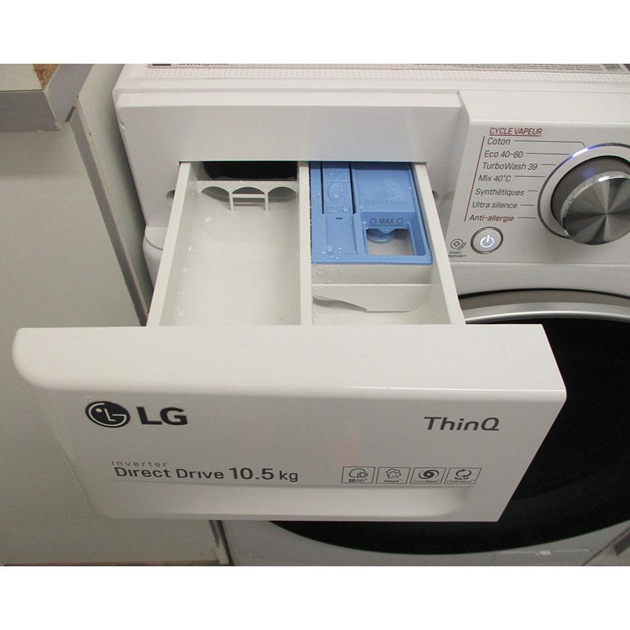 LG F14V71WHST - Compartiments à produits lessiviels