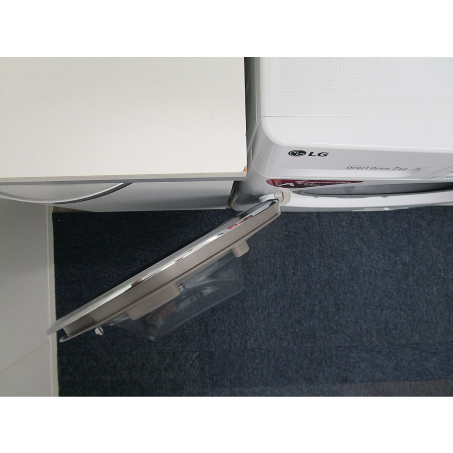 LG F72SJ62WH - Angle d'ouverture de la porte