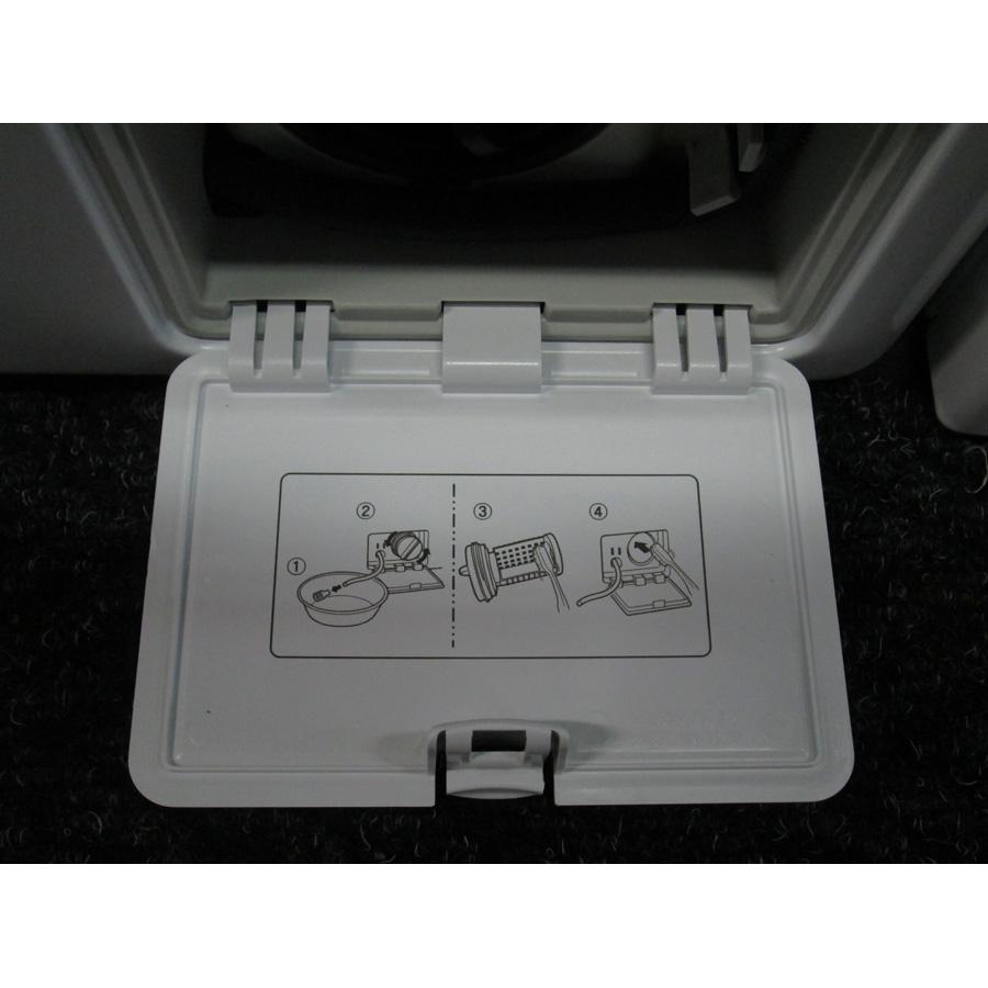 LG F74861WH - Autocollant des préconisations d'entretien