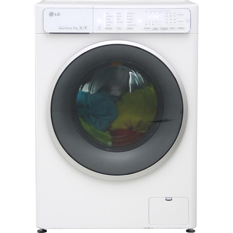 Test lg f74861wh lave linge ufc que choisir for Lave linge que choisir