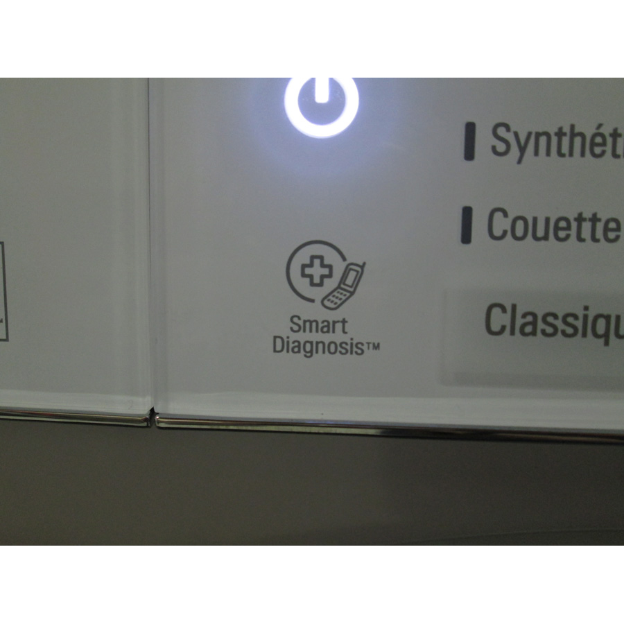 LG F74861WH - Diagnostic service après-vente via smartphone