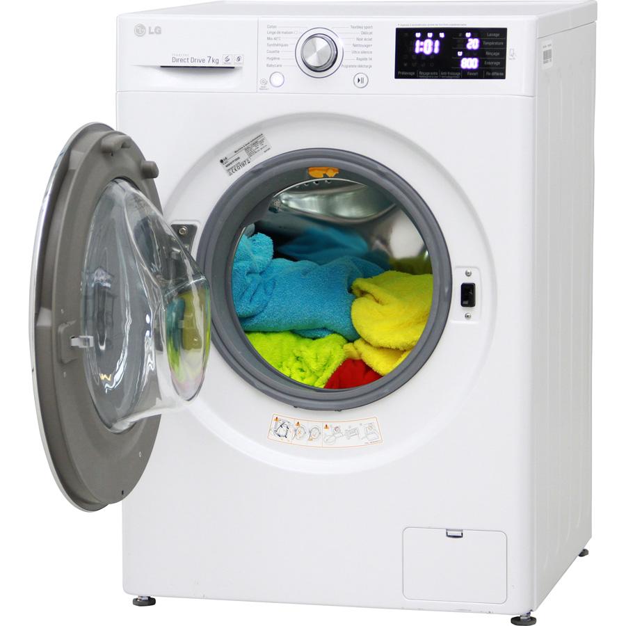 Test lg f74902wh lave linge ufc que choisir for Lave linge que choisir