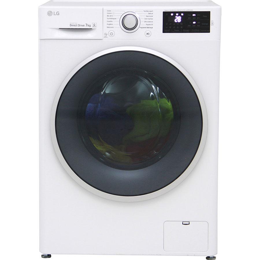 Test lg f74c41wh lave linge ufc que choisir for Lave linge que choisir