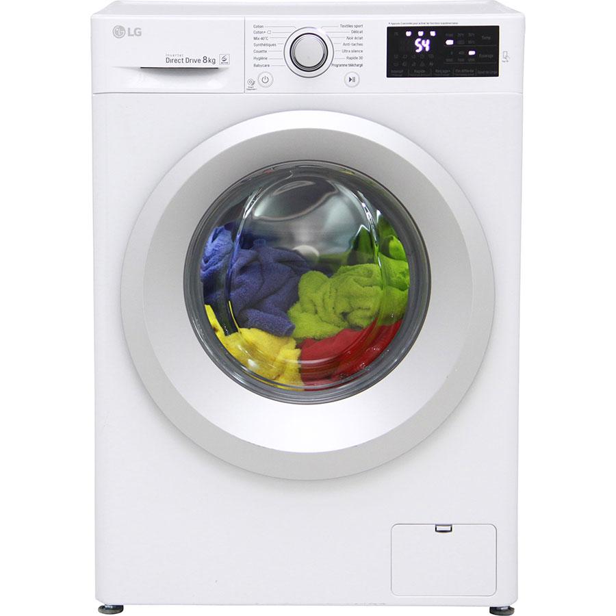 Test lg f82j54wh lave linge ufc que choisir for Lave linge que choisir