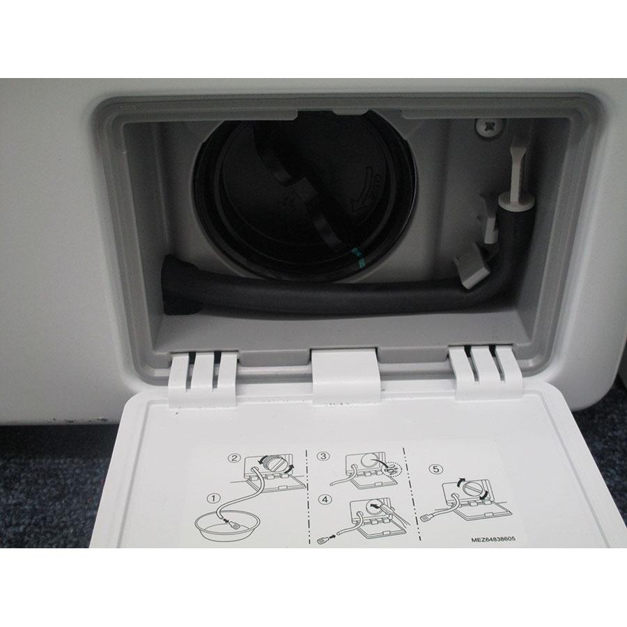 LG F82J54WH - Bouchon du filtre de vidange