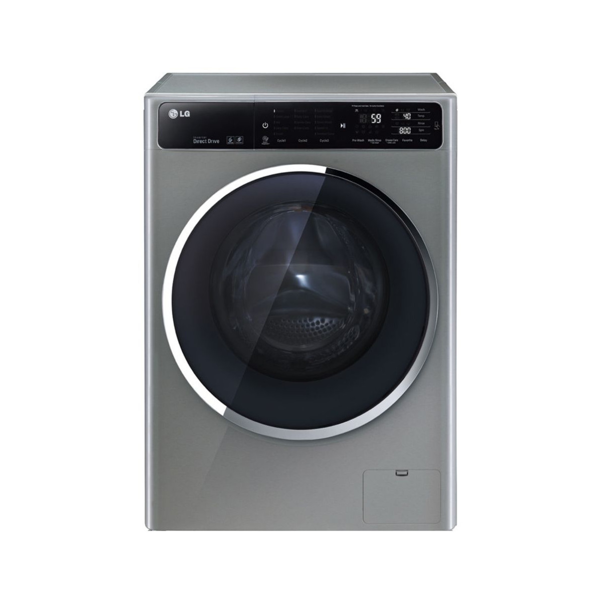 LG F84915IX 6Motion Direct Drive - Vue de face