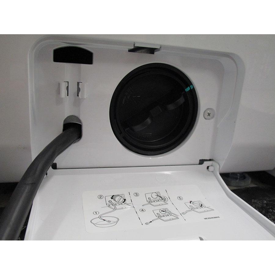 LG F84G62WHS Spa Steam - Bouchon du filtre de vidange